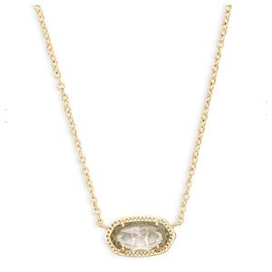 KENDRA SCOTT Crystal Gold Elisa Pendant Necklace